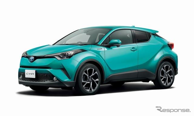 【トヨタ C-HR】発売1か月で4万8000台を受注…月販目標の8倍