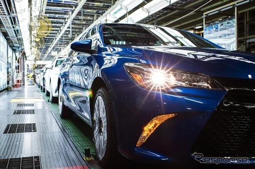 トヨタ北米生産、過去最高…4.4%増の212万台 2016年