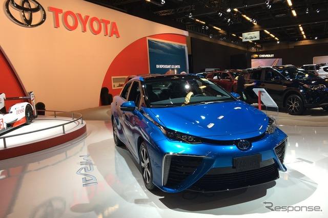 トヨタ、カナダに MIRAI を試験導入…燃料電池車への理解促進へ
