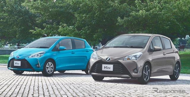 【トヨタ ヴィッツ 改良新型】TRDパーツ発売