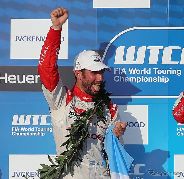 3年連続WTCCチャンピオンのJ-M.ロペスがWECトヨタ陣営に加入。