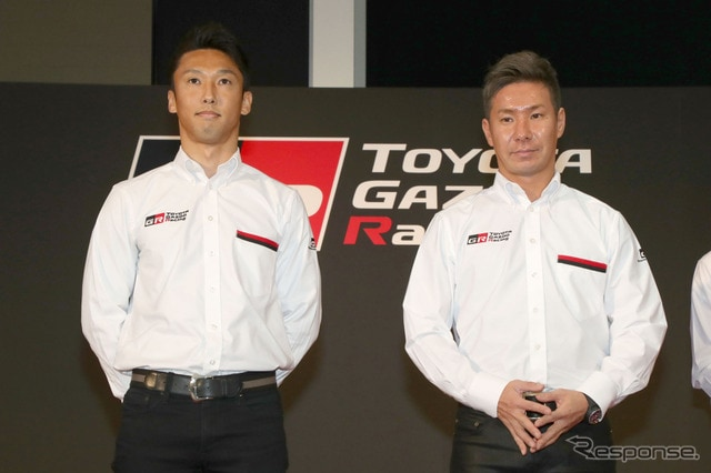 中嶋一貴と小林可夢偉は、現在のトヨタの2トップといえる存在。
