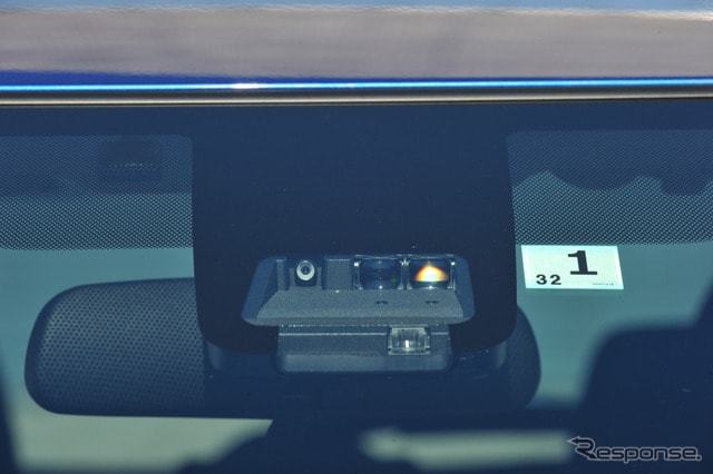 トヨタ ヴィッツに新採用されたSafety sence Cのセンサー