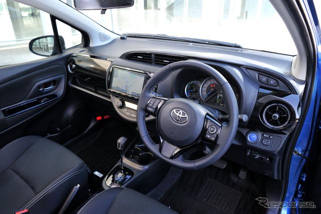 トヨタ ヴィッツ 改良新型