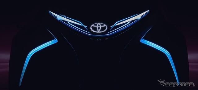 トヨタ i-TRIL コンセプトの予告イメージ
