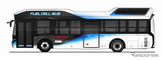 トヨタFCバス