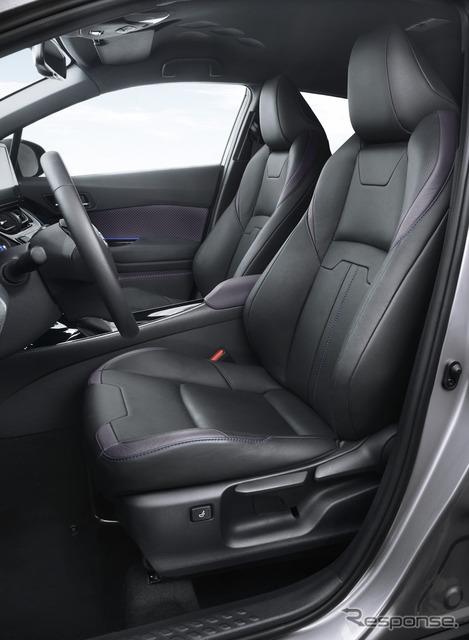 トヨタ C-HR(欧州仕様車)
