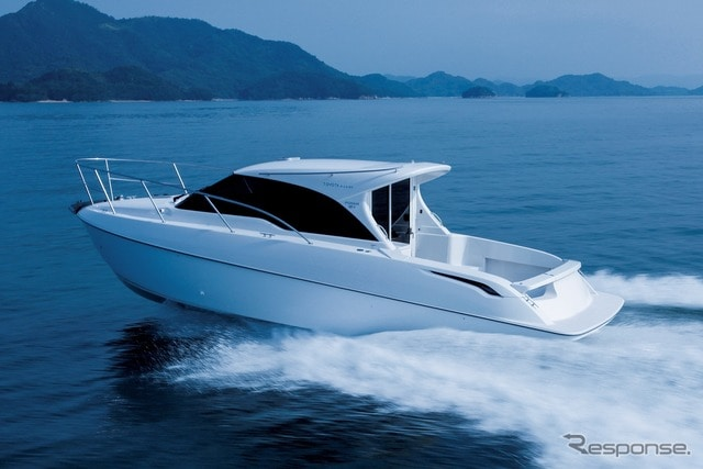 トヨタの新型プレジャーボート、「PONAM-28V」