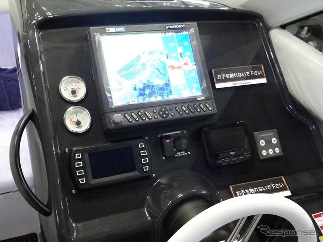 【ジャパンボートショー2017】自動車メーカーだからできるボートづくり(トヨタ自動車ブース)