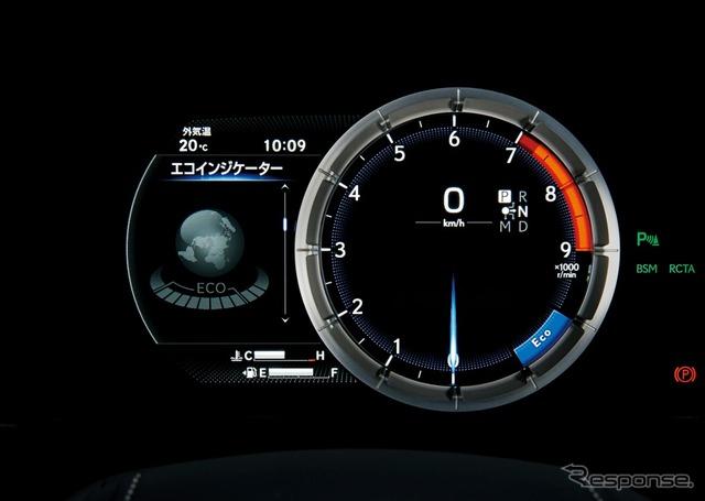 ハイブリッドシステム インジケーター(LC500h全車)