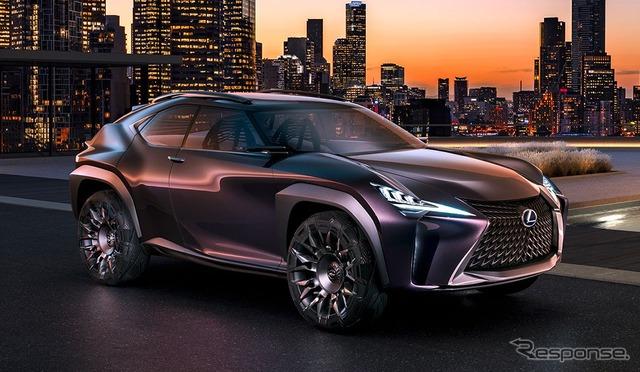レクサス UX コンセプト、市販化へ…ブランド最小SUV