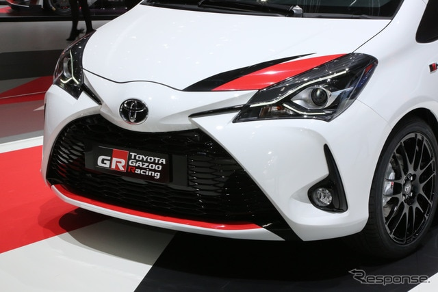 トヨタ ヤリス GRMN(ジュネーブモーターショー2017)