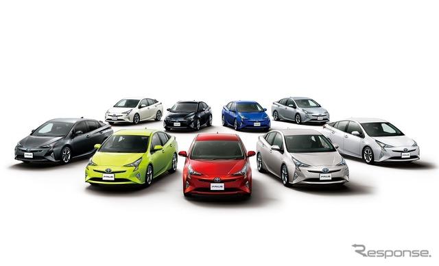 新車販売総合、新型プリウス が5年ぶりのトップ 2016年度車名別