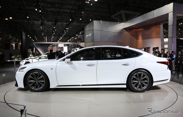 レクサス LS500 F SPORT(ニューヨークモーターショー2017)
