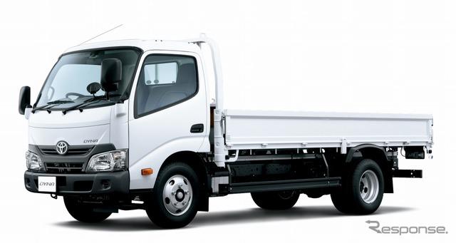 トヨタ ダイナ カーゴ 標準キャブ・ロングデッキ・高床・3t積・ディーゼル車・2WD(ホワイト)