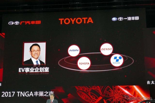 昨年来、トヨタのEV事業は豊田章男社長直轄となり、開発力がより強大になった
