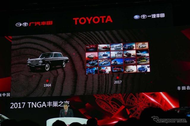 トヨタが中国市場に参入したのは1964年。それから半世紀以上が過ぎ、中国での車種構成は多彩になった