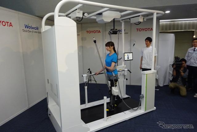 トヨタ 歩行リハビリ支援ロボット「ウェルウォーク WW-1000」