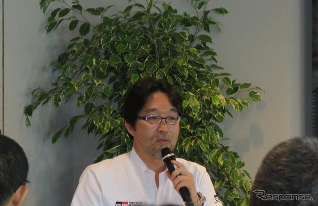 開発部門の村田久武リーダー。