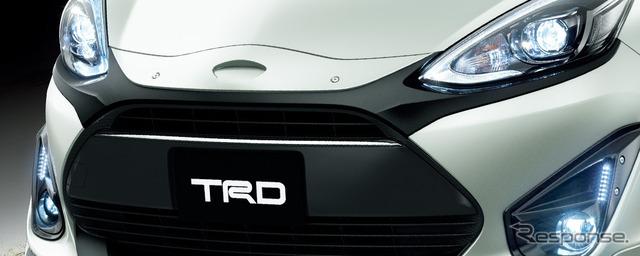 トヨタ・アクア改良新型のTRDパーツ