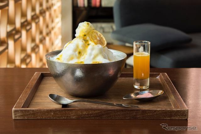 エスプーマかき氷