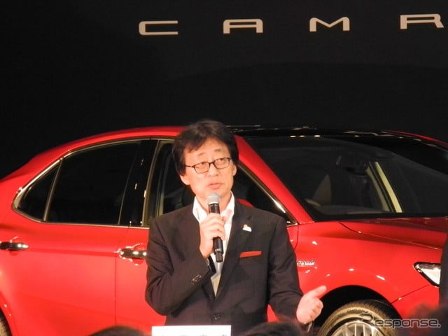 トヨタ自動車の吉田守孝専務役員