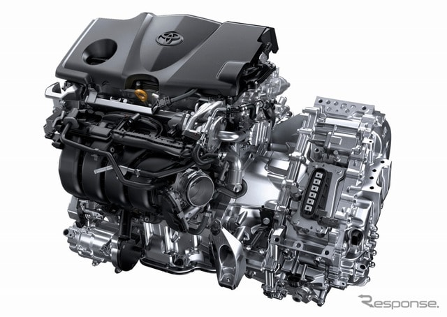 新型カムリ2.5リットルA25A-FXSエンジン+モーター