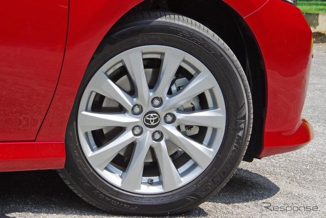 トヨタ カムリ 新型に装着されるミシュラン プライマシー3