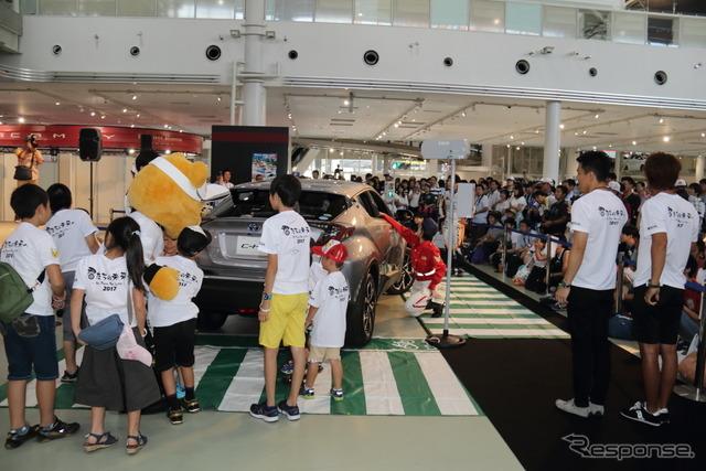 2017LGDA夏祭りで開催された交通安全教室