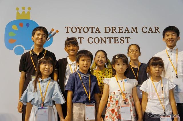 日本コンテスト受賞者の皆さん