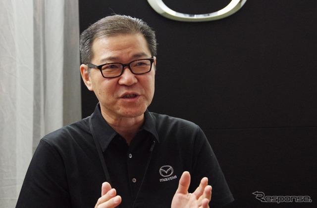 マツダ 商品本部 CX-3 主査の冨山道雄氏