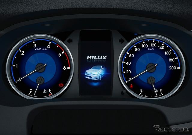 トヨタ ハイラックス Z オプティトロンメーター(メーター照度コントロール付)/4.2インチTFTカラーマルチインフォメーションディスプレイ