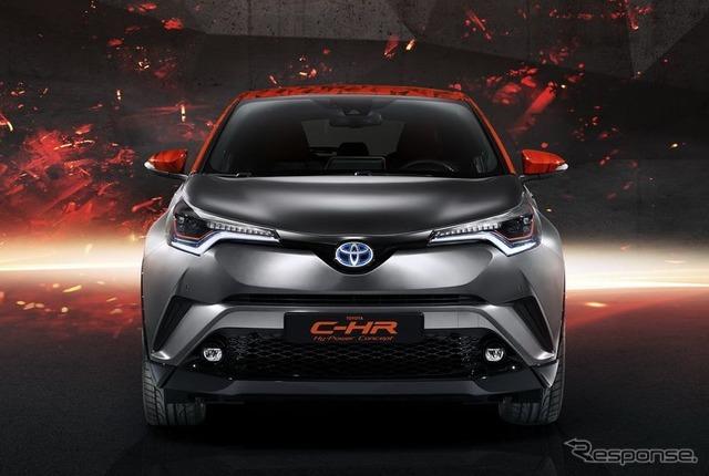 トヨタC-HRハイパワーコンセプト