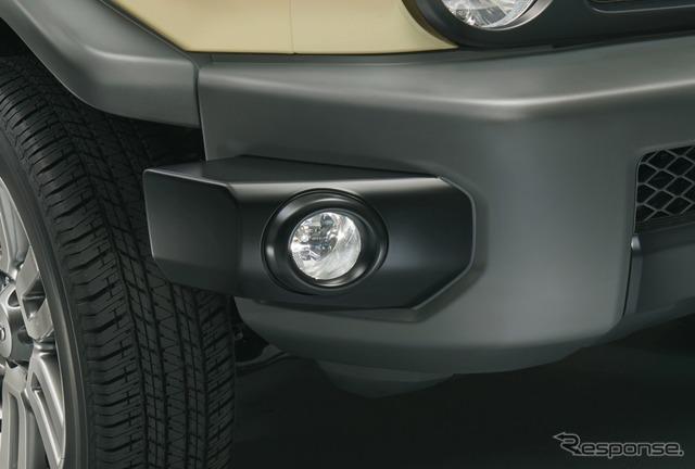 トヨタFJクルーザー・ファイナルエディションのフォグランプ