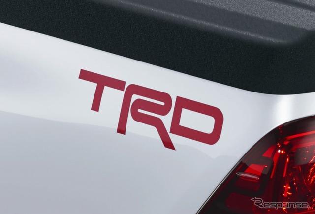 TRDロゴデカール