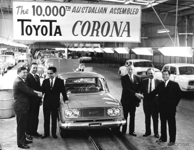 オーストラリア製カローラ1万台達成