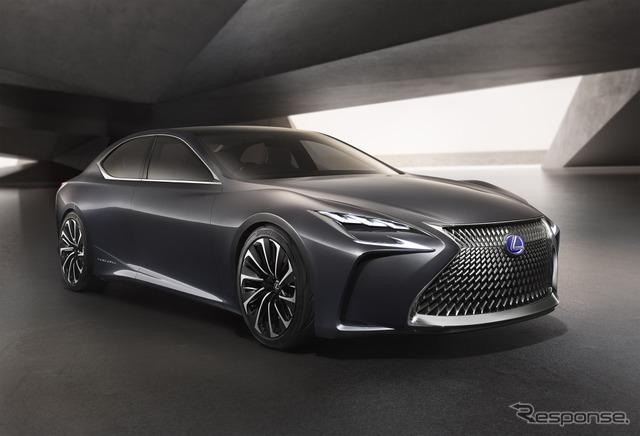 【東京モーターショー2017】レクサス、新型コンセプトカー初公開予定