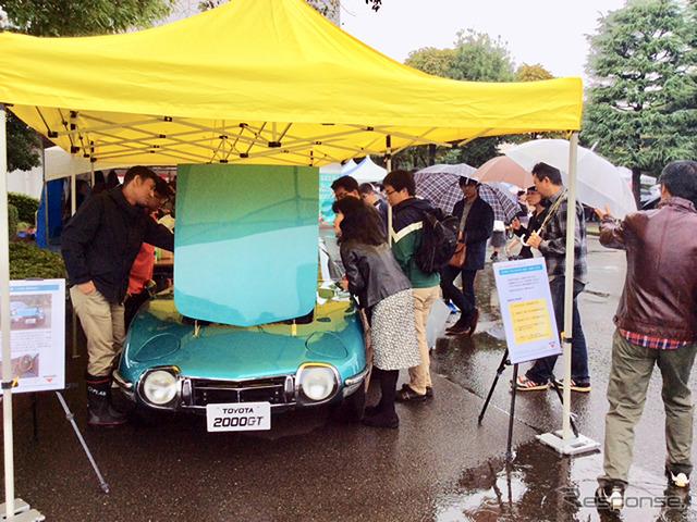 星美学園「星美祭」(10月14・15日)に参加した道本和照氏ほか