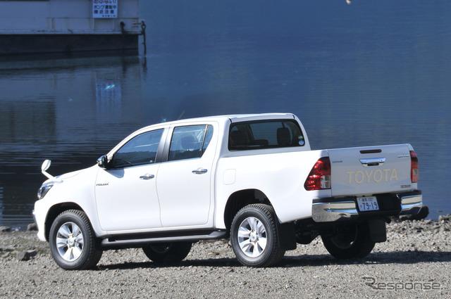 【トヨタ ハイラックス 新型】13年ぶり復活、1ナンバーの堂々サイズに[写真蔵]