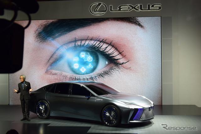 【東京モーターショー2017】レクサスデザインの可能性と自動運転の近未来…LS+