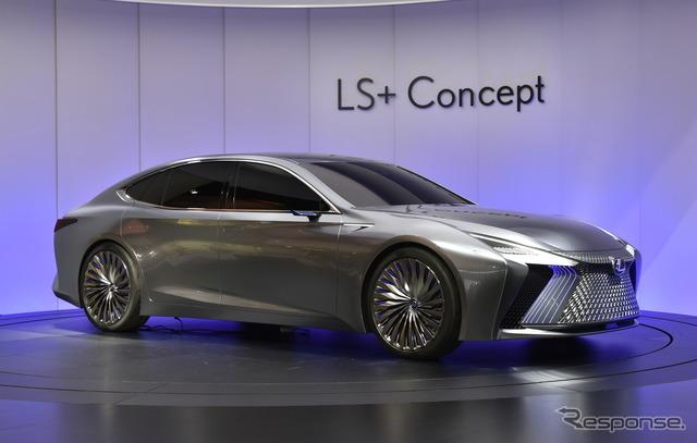 【東京モーターショー2017】レクサス LS+ コンセプト…AI搭載の自動運転車[詳細画像]