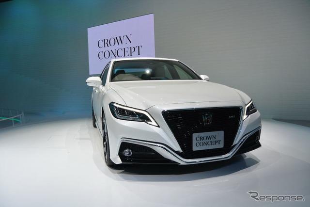 トヨタ・クラウン・コンセプト(東京モーターショー2017)