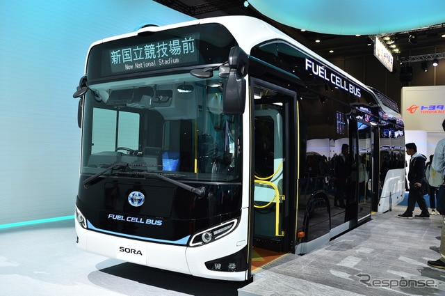 【東京モーターショー2017】トヨタ SORA…2018年に市販、燃料電池バス[詳細画像]