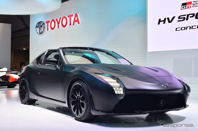 【東京モーターショー2017】GR HVスポーツコンセプト…レーシングカーの魂を注入[詳細画像]