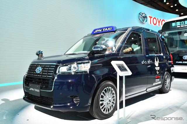 【東京モーターショー2017】日本版ブラックキャブ…ジャパンタクシー[詳細画像]