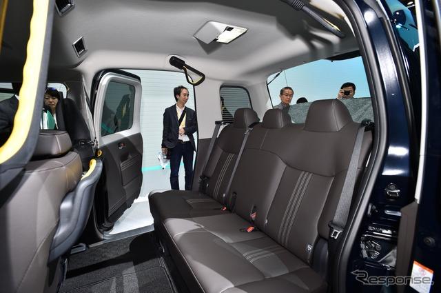 トヨタ JPN TAXI(ジャパンタクシー)(東京モーターショー2017)
