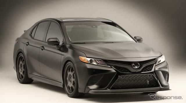 【SEMA 2017】トヨタ カムリ 新型をカスタマイズ、コンセプトはNASCARマシンの公道版