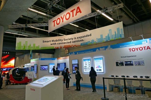 第24回ITS世界会議モントリオールに出展したトヨタ