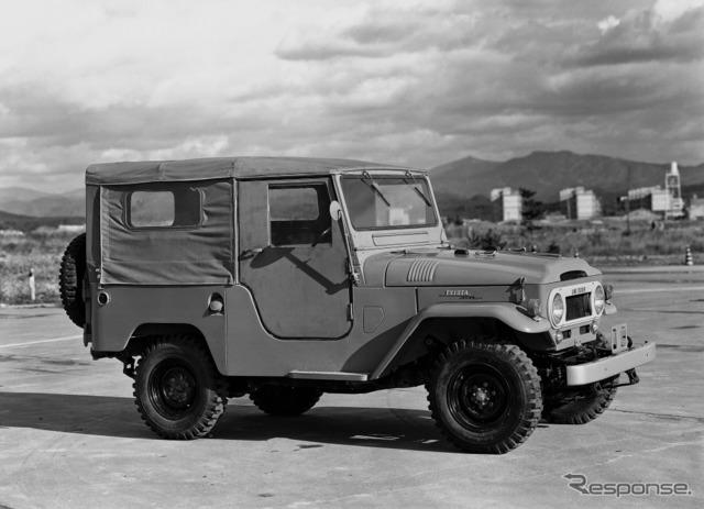 トヨタ ランドクルーザー40 系 (1960年)