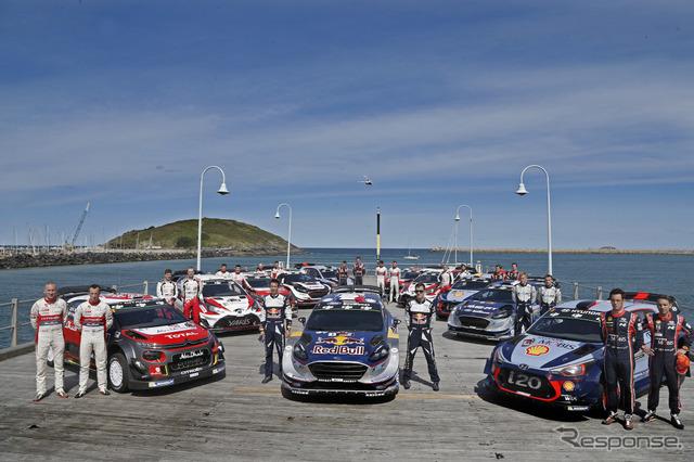 今年のWRCはシトロエン、Mスポーツ(フォード)、ヒュンダイ、トヨタの4大陣営の戦いに沸いた。